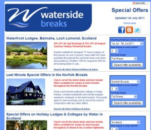 Special Offer Holiday Cottages & Lodges