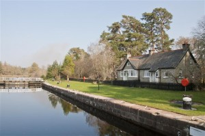 Mingulay Cottage on the Caledonian Canal