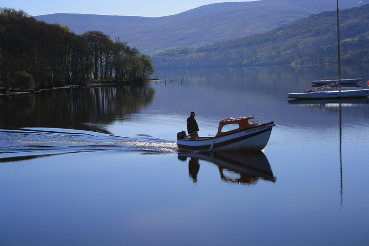 Fishing at Loch Tay