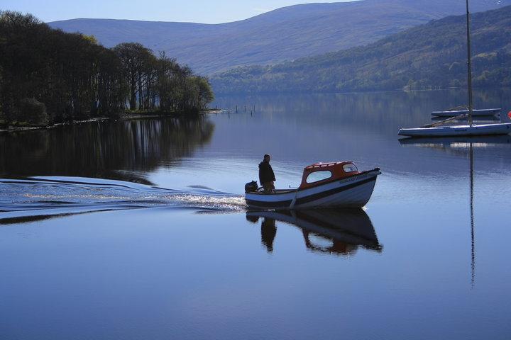 Fishing at Loch Tay