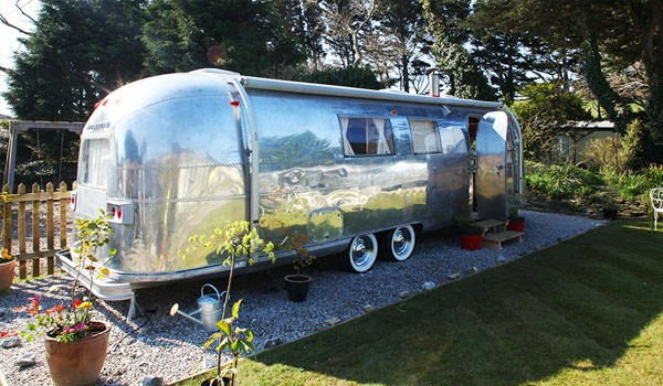 Holiday in a Silver Bullet in Cornwall