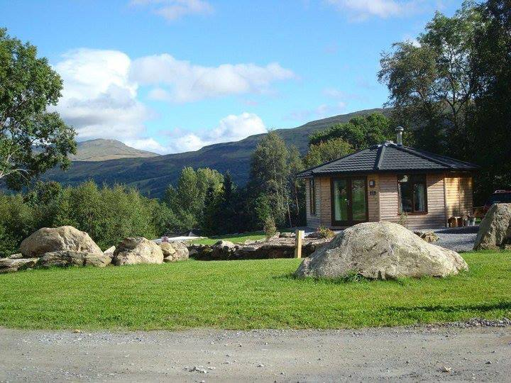 Woodland Cabins at Loch Tay