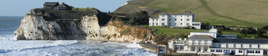 Isle of Wight beaches - Freshwater Bay