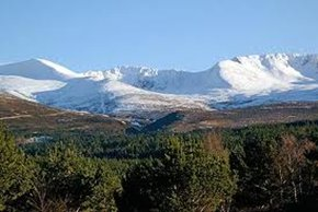 heath cottage - Great views across the Cairngorms