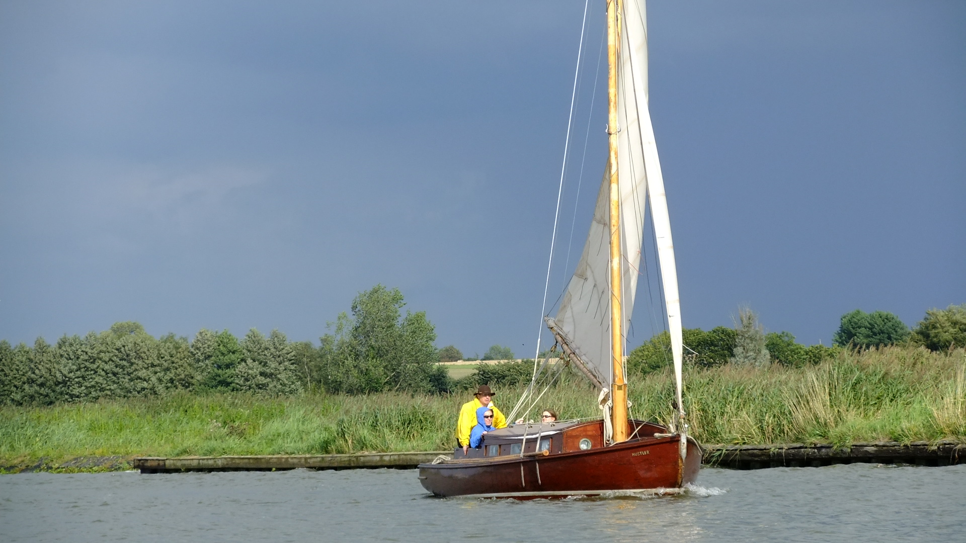 Norfolk Broads, superb boating & sailing