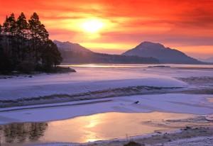 Loch Laggan, Inverness-shire