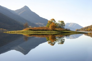 The Pap of Glencoe from near Kinlochleven, West Highlands