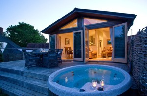 Saxon Maybank Hot Tub Lodges