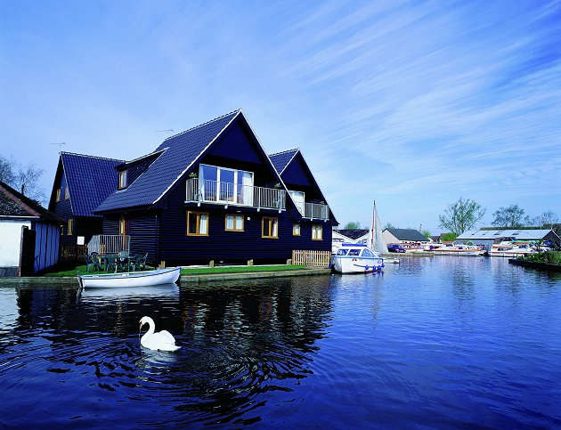 Coot Daisy Broad Holiday Lodge Wroxham Norfolk Broads