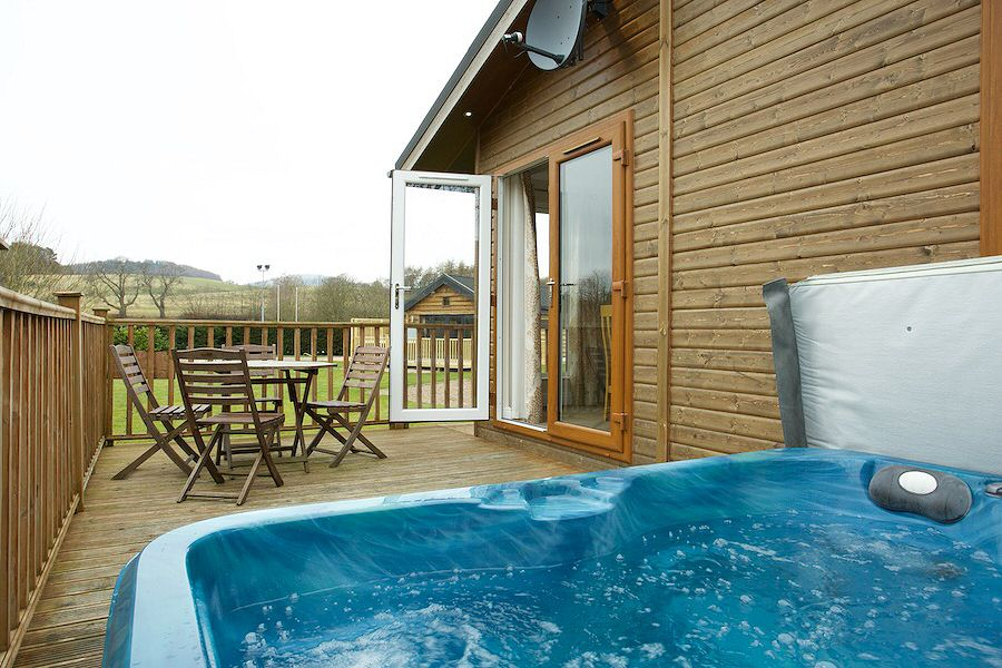 Woolly Willow Lodge Braidhaugh Scotland