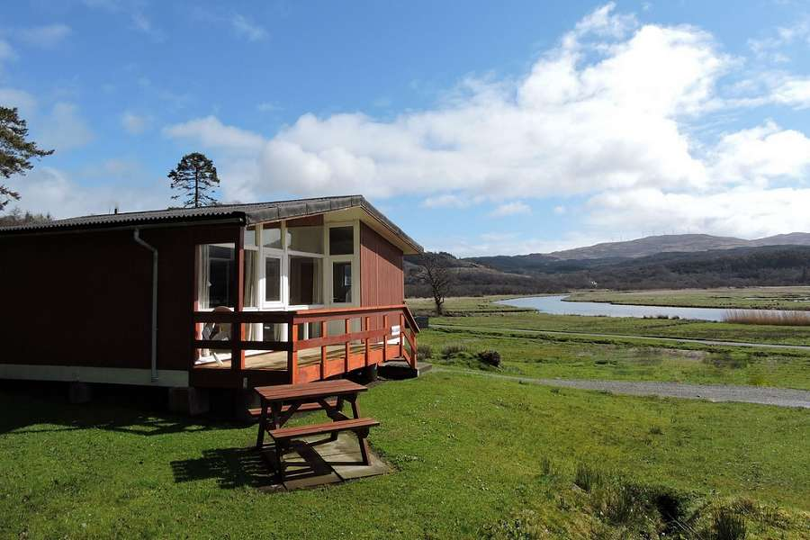 Ellary Malabar Chalet Scotland