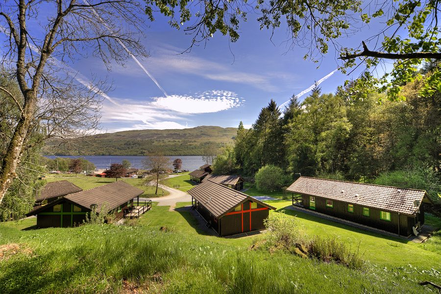 Golden Mary lodge Loch Tay