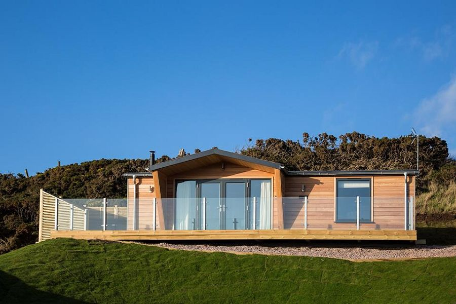 Sauchope Retreat Guillemot Lodge Scotland