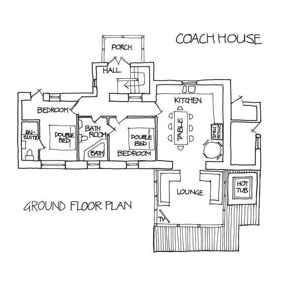 coach house floor plan lake of menteith scotland easybuildingplans ready to use building plans