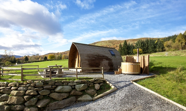 Wigwam holidays with hot tubs