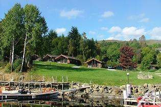 Loch Tay Holiday Lodges Overlooking Loch Tay Nr Killin