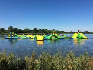 Cotswold Water Park watersports