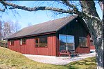 Highland lodges at Loch Ness