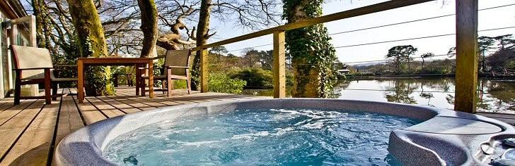 Holiday Lodges with Hot Tubs, South West England