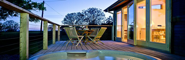 Dorset Log Cabins with Hot Tubs