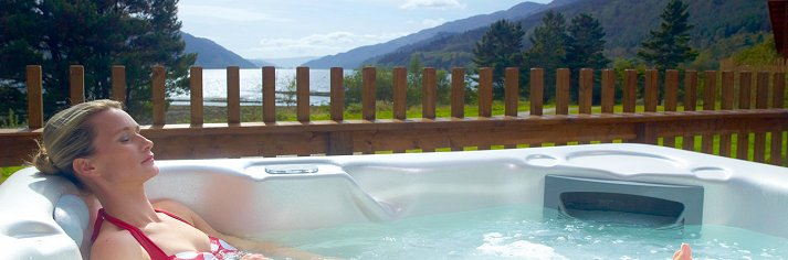 Lodges with hot tubs in scotland log cabins with hot Log cabins with hot tubs scotland