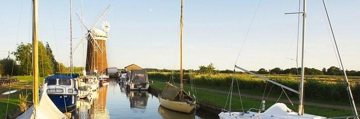 Norfolk Broads Holidays - Cottages & Lodges