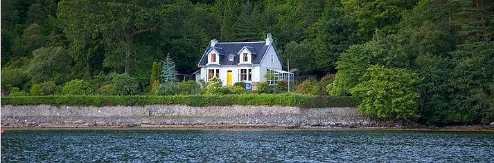 Amazing Scottish West Coast Cottages Lodges Scottish Holiday Interior Design Ideas Tzicisoteloinfo