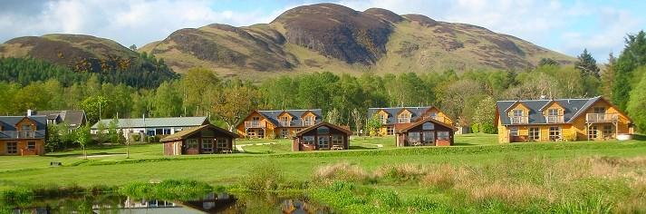 Loch Lomond Luxury Lodges with Hot Tubs