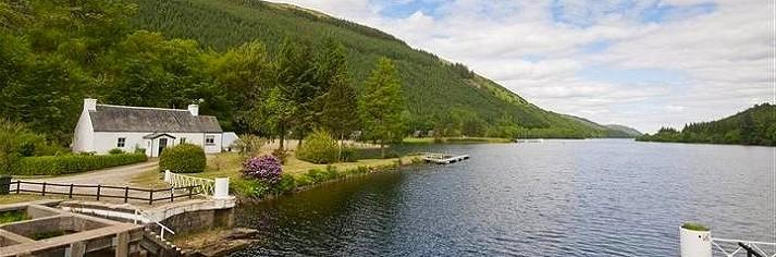 Scottish Fishing Holiday Cottages by Water