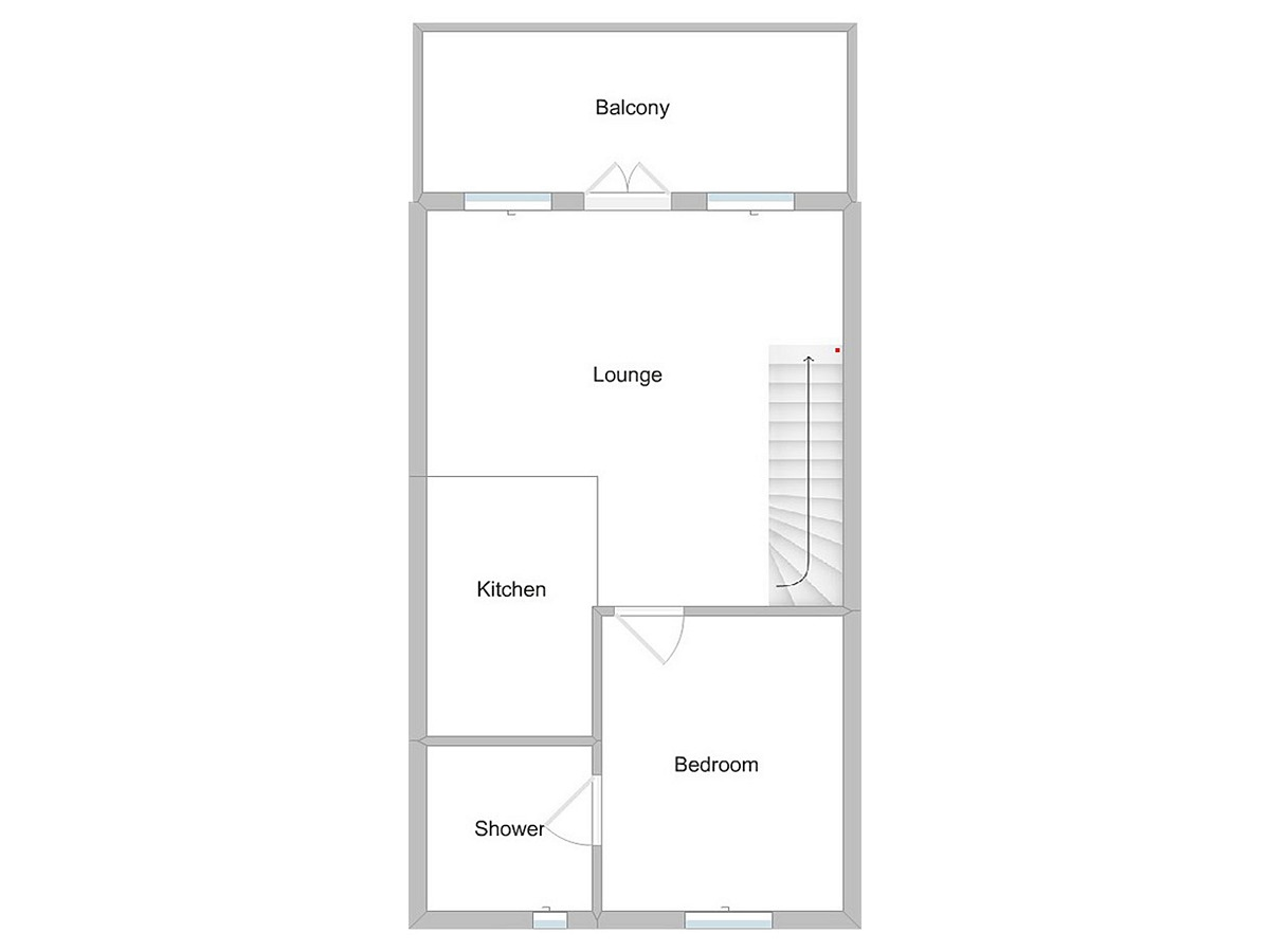 Crested Grebe First Floor Plan