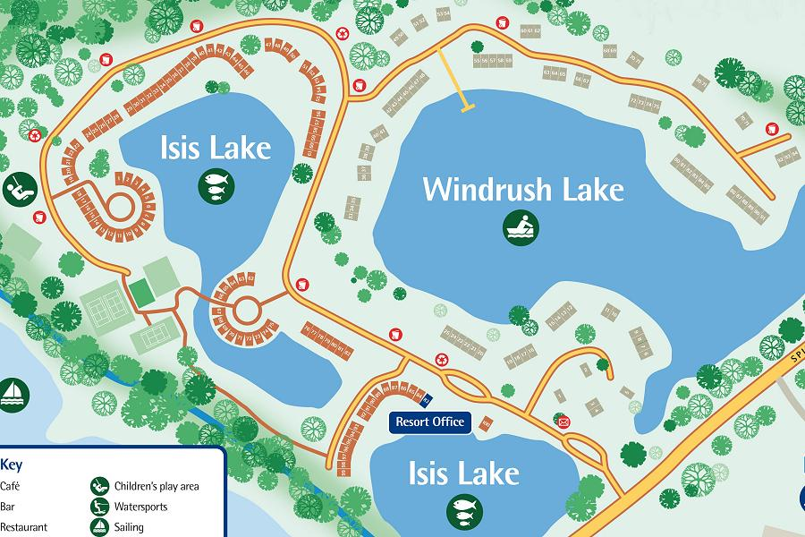 Isis and Windrush Site Map
