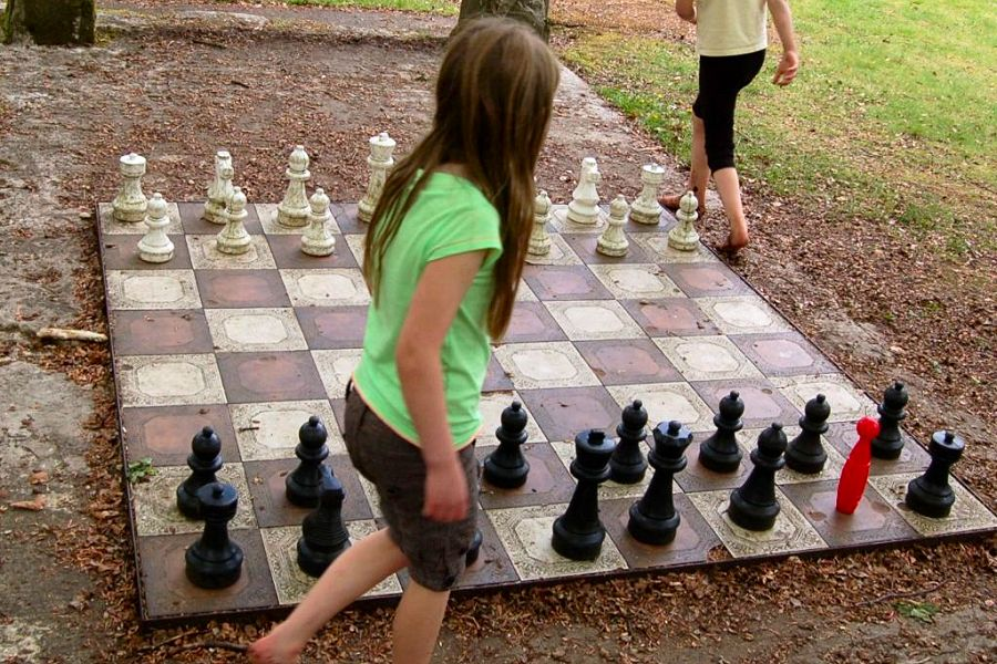 Giant Chess at Lochend