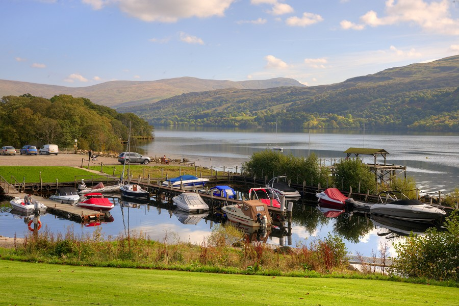 The Harbour at Loch Tay