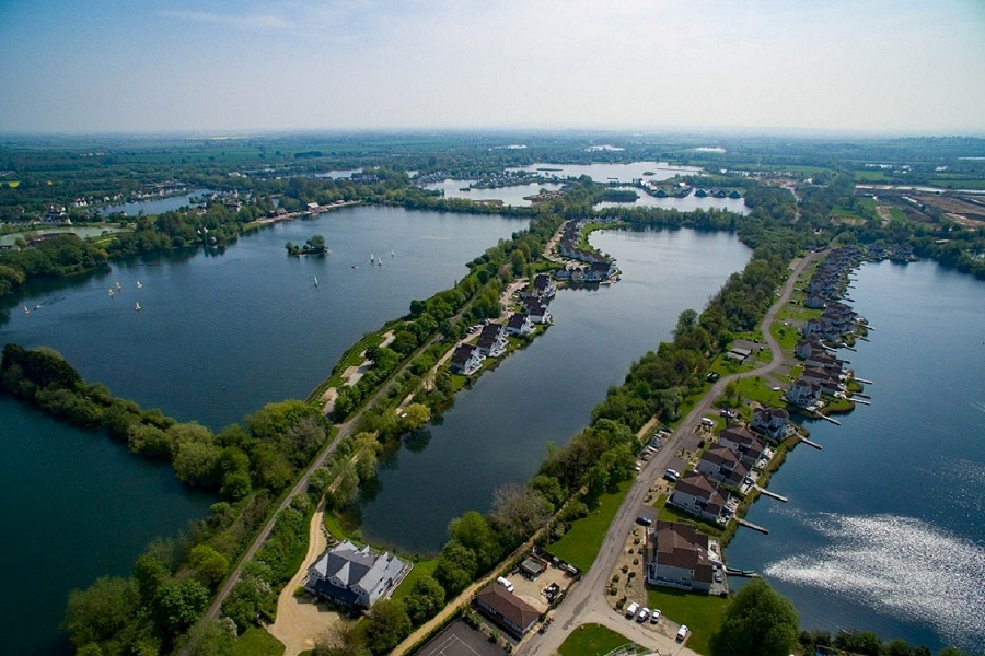 Spring Lake within the Cotswold Water Park