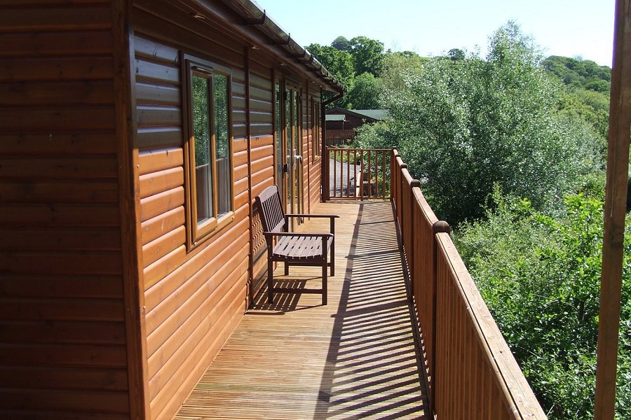 Moorhen Lodge Balcony