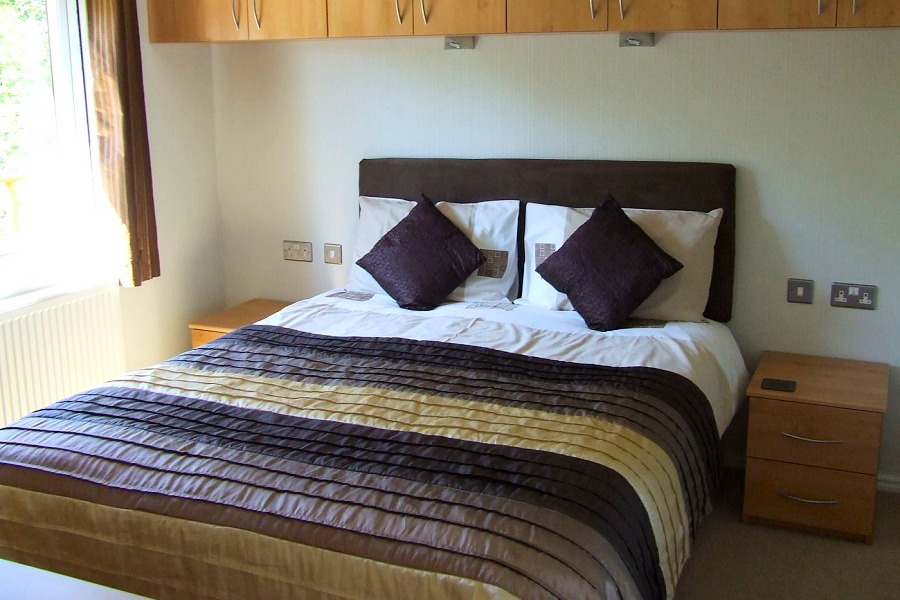 Moorhen Lodge Double Bedroom