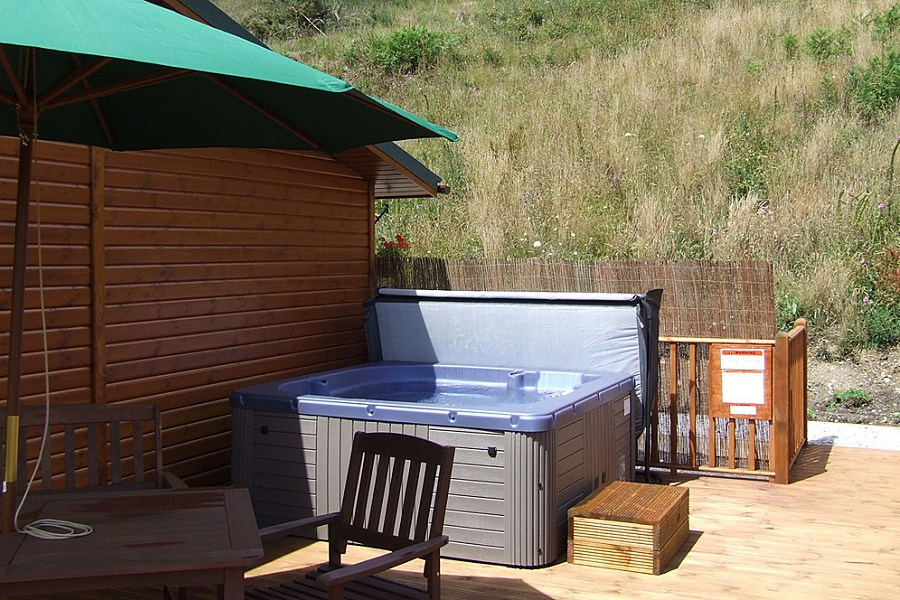 Moorhen Lodge Hot Tub