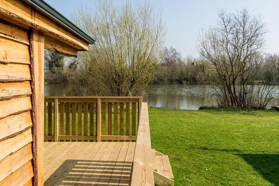 Woodlakes Larch Lodge Plus Views