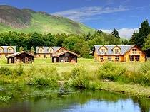Log cabins in scotland holiday lodges in scotland Log cabins with hot tubs scotland