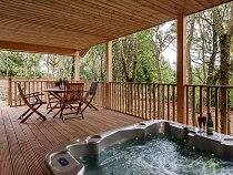 South View Willow Hot Tub Lodge - Exeter